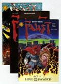 Modern Age (1980-Present):Alternative/Underground, Faust #1-4 Autographed Copies Group (Northstar Publishing, 1989)Condition: Average NM.... (Total: 10 Comic Books)