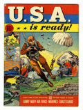 Golden Age (1938-1955):War, U.S.A. Is Ready #1 (Dell, 1941) Condition: FN....