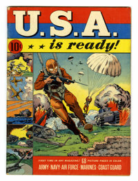U.S.A. Is Ready #1 (Dell, 1941) Condition: FN