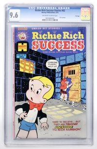 Richie Rich Success Stories #62 File Copy (Harvey, 1975) CGC NM+ 9.6 Off-white to white pages