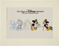 Animation Art:Production Drawing, The Magic of Disney Animation Sericel (The Walt DisneyCompany, undated)....