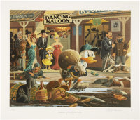Carl Barks Nobody's Spending Fool Lithograph Print #212/350 (Another Rainbow, 1997)