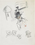 Original Comic Art:Miscellaneous, Sheldon Mayer Rudolph, the Red-Nosed Reindeer Story and Sketch Original Art, Group of 63 (circa 1979).... (Total: 63 Items)
