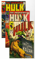 Silver Age (1956-1969):Superhero, The Incredible Hulk Group (Marvel, 1968-69) Condition: Average VF/NM.... (Total: 8 Comic Books)