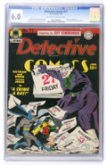 Golden Age (1938-1955):Superhero, Detective Comics #71 (DC, 1943) CGC FN 6.0 Light tan to off-white pages....