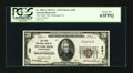National Bank Notes:Pennsylvania, Pittsburgh, PA - $20 1929 Ty. 1 The Third NB Ch. # 291. ...