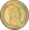 Early Eagles, 1795 $10 13 Leaves--Repaired, Improperly Cleaned--NCS. VFDetails....