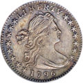 Early Half Dimes, 1796 H10C LIKERTY--Improperly Cleaned--NCS. AU Details....