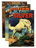 Golden Age (1938-1955):Western, Lone Ranger's Famous Horse Hi-Yo Silver File Copies Group (Dell, 1953-60) Condition: Average VF+.... (Total: 24 Comic Books)