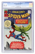 Silver Age (1956-1969):Superhero, The Amazing Spider-Man #7 (Marvel, 1963) CGC VF 8.0 Off-white to white pages....