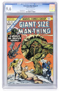 Bronze Age (1970-1979):Superhero, Giant-Size Man-Thing #3 (Marvel, 1975) CGC NM+ 9.6 Off-white to white pages....