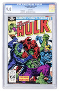 Modern Age (1980-Present):Superhero, The Incredible Hulk #269 (Marvel, 1982) CGC NM/MT 9.8 White pages....