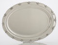 Silver & Vertu:Hollowware, AN AMERICAN SILVER TRAY. Tiffany & Co., New York, New York, circa 1893. Marks: TIFFANY & CO., 11742B MAKERS 401, STERLING ...