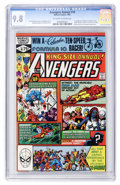 Modern Age (1980-Present):Superhero, The Avengers Annual #10 (Marvel, 1981) CGC NM/MT 9.8 Off-white towhite pages....