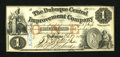 Obsoletes By State:Iowa, Dubuque, IA- Dubuque Central Improvement Co. $1 Feb. 1, 1858. ...