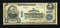 National Bank Notes:West Virginia, Charleston, WV - $5 1902 Plain Back Fr. 598 The Charleston NB Ch. #3236. ...