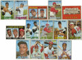 Baseball Cards:Sets, 1967 Topps Baseball Near Complete Set 587/609). Near set is missingthe following cards: 1 The Champs, 150 Mantle, 200 Mays,...