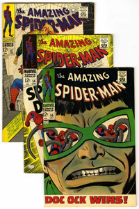 The Amazing Spider-Man #55-60 Group (Marvel, 1967-68) Condition: Average FN.... (Total: 6)