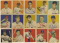 Baseball Cards:Sets, 1949 Bowman Baseball Near Complete Set (224/240). Near set is missing the following cards: #19 Brown, 24 Musial, 27 Feller, ...