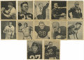 Football Cards:Sets, 1948 Bowman Football Near Complete Set (95/108). Near set ismissing the following cards: #4, 10, 12 Conerly, 19, 22 Baugh, ...
