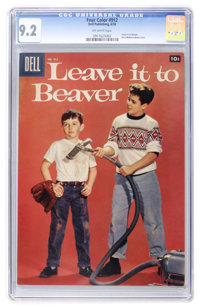 Four Color #912 Leave It To Beaver (Dell, 1958) CGC NM- 9.2 Off-white pages