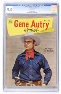Golden Age (1938-1955):Western, Gene Autry Comics #51 Mile High pedigree (Dell, 1951) CGC VF/NM 9.0 White pages....