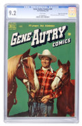 Golden Age (1938-1955):Western, Gene Autry Comics #40 Mile High pedigree (Dell, 1950) CGC NM- 9.2 White pages....