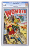 Golden Age (1938-1955):Superhero, Wonder Comics #19 (Better Publications, 1948) CGC FN/VF 7.0 Cream to off-white pages....