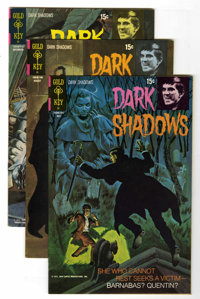 Dark Shadows File Copy Group (Gold Key, 1971-76) Condition: Average VF/NM.... (Total: 34 Comic Books)