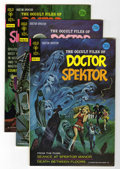 Bronze Age (1970-1979):Horror, Occult Files of Doctor Spektor Multiple File Copies Group (GoldKey, 1973-75) Condition: Average VF+.... (Total: 9 Comic Books)