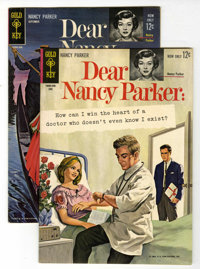 Dear Nancy Parker #1 and 2 Multiple File Copies Group (Gold Key, 1963) Condition: Average VF+.... (Total: 6 Comic Books)