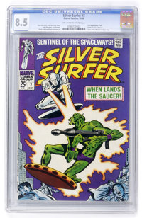 The Silver Surfer #2 (Marvel, 1968) CGC VF+ 8.5 Off-white to white pages
