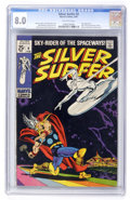 Silver Age (1956-1969):Superhero, The Silver Surfer #4 (Marvel, 1969) CGC VF 8.0 Off-white pages....