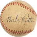 Autographs:Baseballs, 1930's High-Grade Babe Ruth Single Signed Baseball....