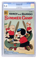 Silver Age (1956-1969):Miscellaneous, Four Color #1034 Nancy and Sluggo Summer Camp (Dell, 1959) CGC NM 9.4 Cream to off-white pages....