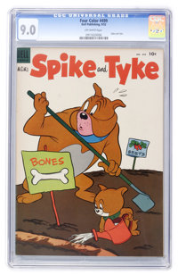 Four Color #499 Spike and Tyke (#1) (Dell, 1953) CGC VF/NM 9.0 Off-white pages