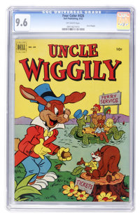 Four Color #428 Uncle Wiggily (Dell, 1952) CGC NM+ 9.6 Off-white pages