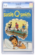 Golden Age (1938-1955):Humor, Four Color #323 Susie Q. Smith (#1) (Dell, 1951) CGC VF/NM 9.0 Cream to off-white pages....