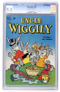 Four Color #320 Uncle Wiggily (Dell, 1951) CGC NM- 9.2 Cream to off-white pages