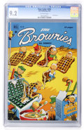 Golden Age (1938-1955):Humor, Four Color #293 The Brownies (Dell, 1950) CGC NM- 9.2 Off-white pages....