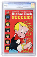 Bronze Age (1970-1979):Humor, Richie Rich Success Stories #32 File Copy (Harvey, 1970) CGC NM/MT9.8 Off-white to white pages....