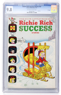 Richie Rich Success Stories #37 File Copy (Harvey, 1971) CGC NM/MT 9.8 Off-white to white pages
