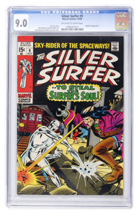 The Silver Surfer #9 (Marvel, 1969) CGC VF/NM 9.0 Off-white to white pages