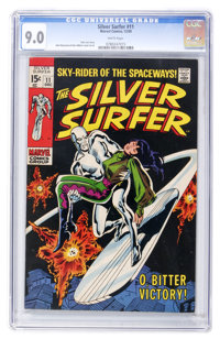 The Silver Surfer #11 (Marvel, 1969) CGC VF/NM 9.0 White pages