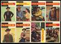 "Non-Sport Cards:General, 1958 Topps ""T.V. Westerns"" High-Grade Near Set (70/71)...."