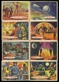 Non-Sport Cards:General, 1958 Topps Space - Target Moon Complete Set (80) ...
