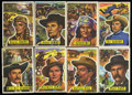"Non-Sport Cards:General, 1956 Topps Western ""Round-Up"" Complete Set (80). ..."