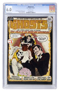 Bronze Age (1970-1979):Horror, Ghosts #1 (DC, 1971) CGC FN 6.0 Off-white pages....