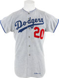 Baseball Collectibles:Uniforms, 1971 Don Sutton Game Worn Jersey....