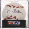 Autographs:Baseballs, Bob Gibson Single Signed Baseball PSA Gem Mint 10....